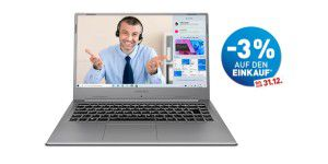 Notebook mit Intel Tiger Lake bei Aldi Nord