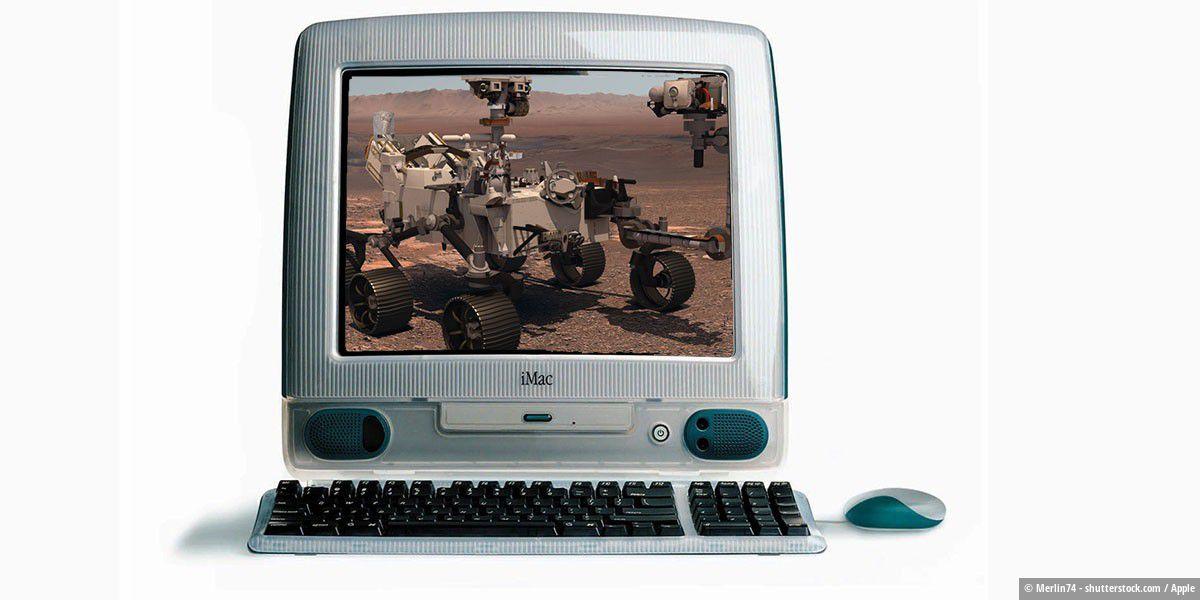 Mars-Rover Perseverance läuft mit iMac-Chip von 1998