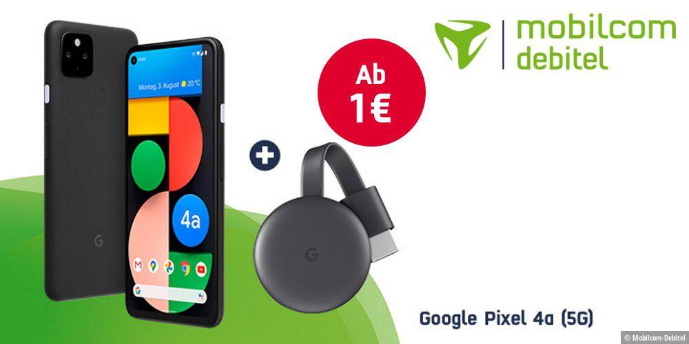 Google Chromecast geschenkt: Zum Google Pixel 4a (5G) - PC-WELT
