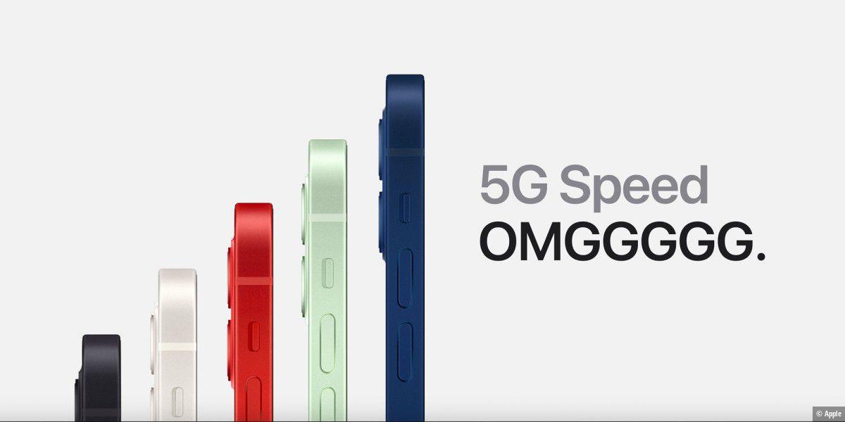 iPhone führt 5G-Markt an und muss Konkurrenz fürchten