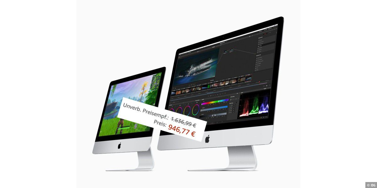 4K-iMac bei Amazon für 937 Euro: Top oder Flop?