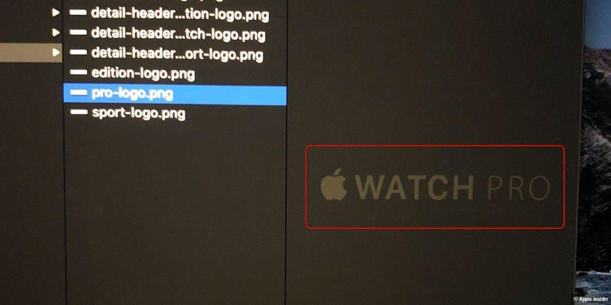 """""""Apple Watch Pro"""" aufgetaucht - bisher unentdeckt"""